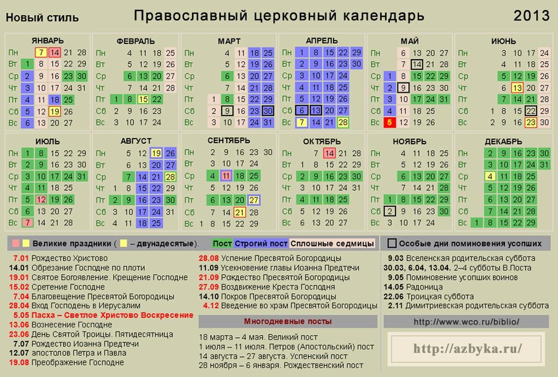 Православный календарь на 2013 г. 18:41.  Просмотров: 75 Добавил: EURO1 Рейтинг.